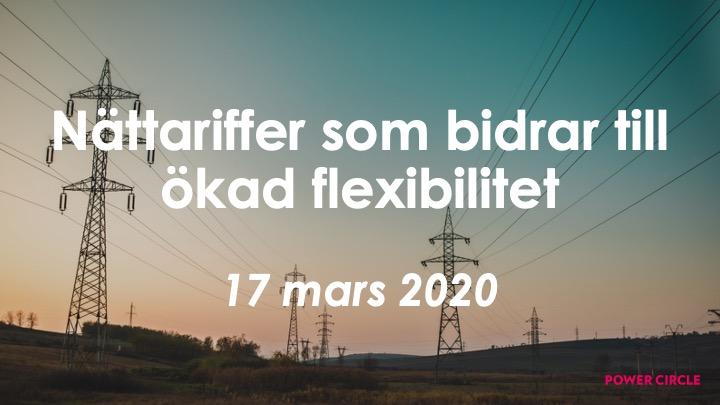 Framtidsråd: Nättariffer som bidrar till ökad flexibilitet