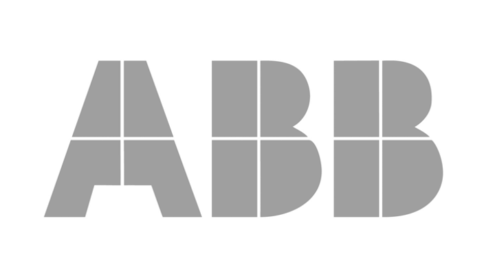 Gray ABB logo