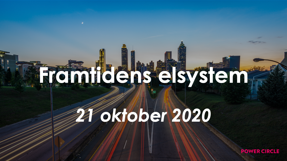Konferens: Framtidens Elsystem