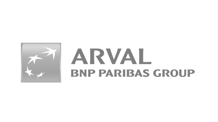 Gray Arval logo