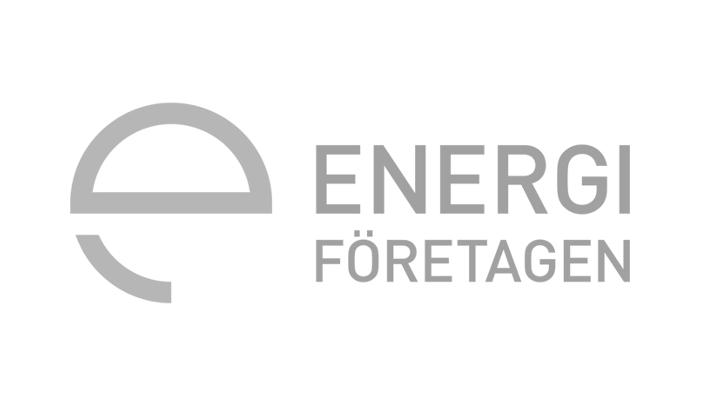Gray Energiforetagen logo