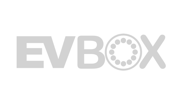 Gray EVBox logo