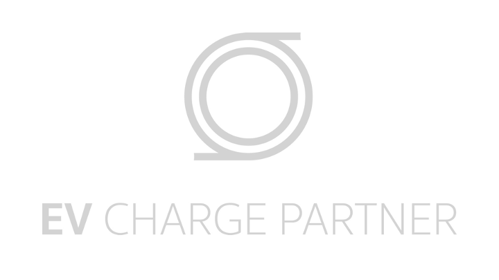 Gray EV Charge Partner logo