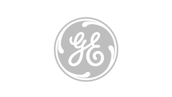 Gray General Electric logo