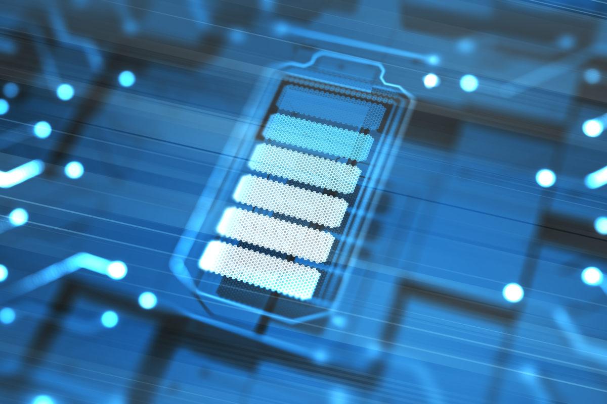Blue circuit image