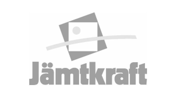 Gray Jämtkraft logo