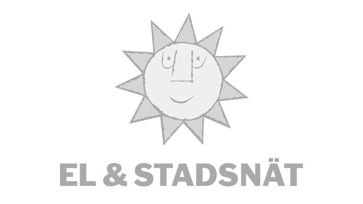 Gray Karlstads El- och Stadsnät logo