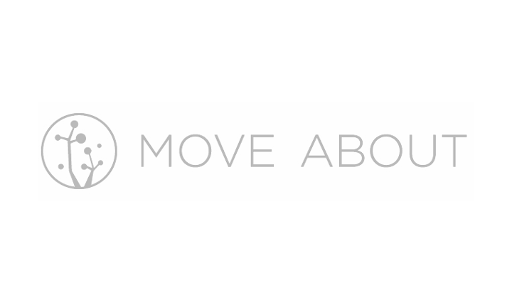 Gray Move About logo