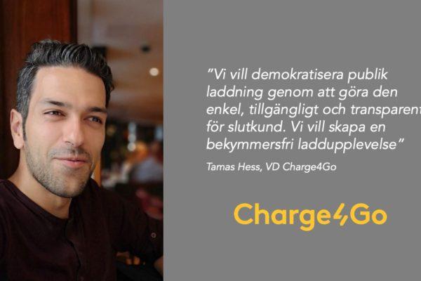 Charge4Go ny partner i Power Circle