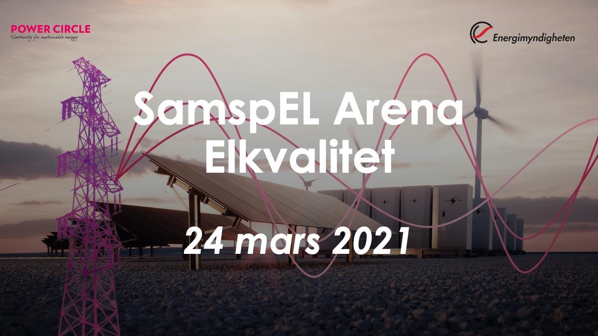 Läs mer om artikeln SamspEL Arena: Elkvalitet