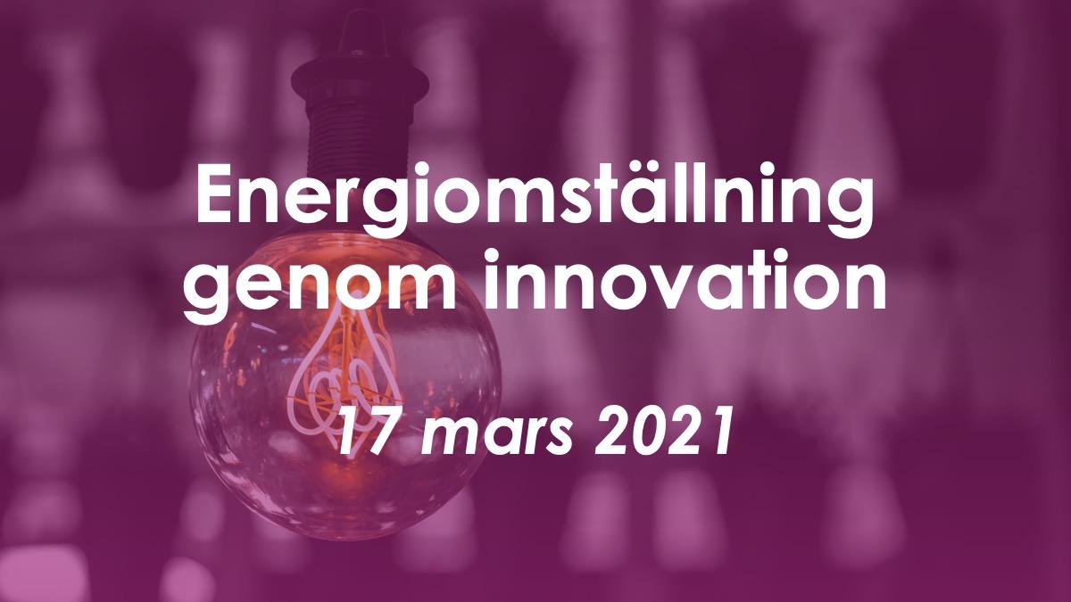 Frukostseminarium: Matchmaking för innovation