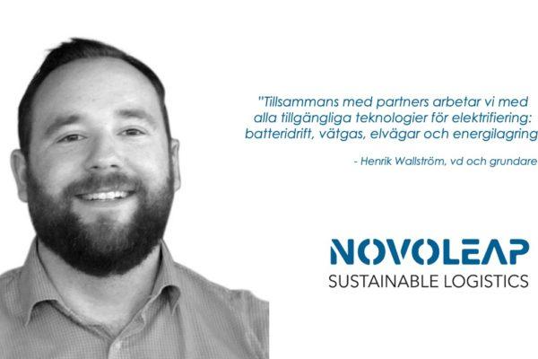 Novoleap bygger framtidens transportsystem