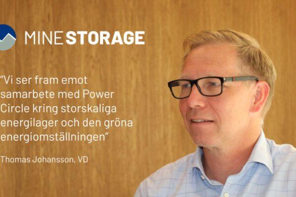 Energilager i gruvor möjliggör grön energiomställning