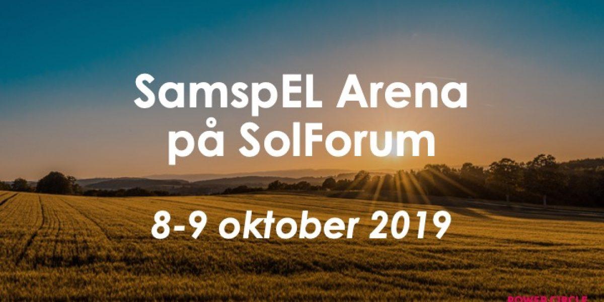 SamspEL Arena gästar SolForum